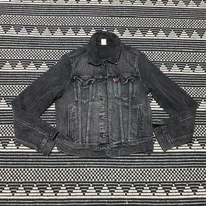 Levi's Women's Gray Denim Jean Jacket